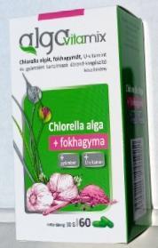 Alga Vitamix + Fokhagyma , gyömbér, U-vitamin kapszula 60 db/doboz