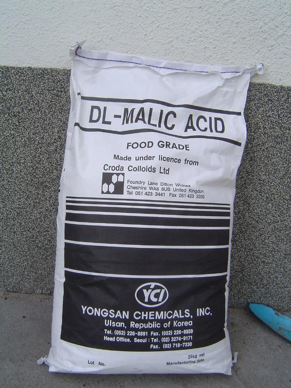 Almasav élelmiszeripari  minőség 25 kg-os zsákban (ár / 1kg)