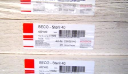 Beco KD 7 40x40 szűrőlap