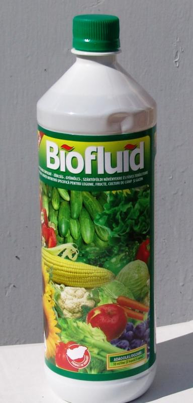 BioFluid Szántóföldi, kertészeti kultúrák bio tápoldat 1 liter