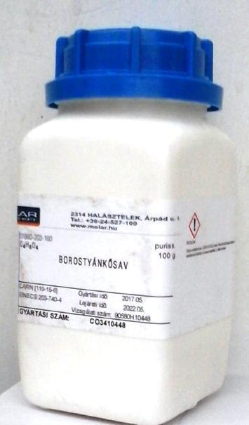 Borostyánkősav puriss 1000 g