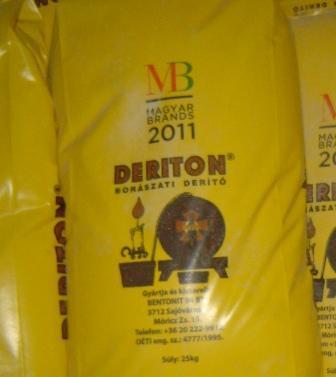 Deriton bentonit  25kg -os zsákban ár/1 kg