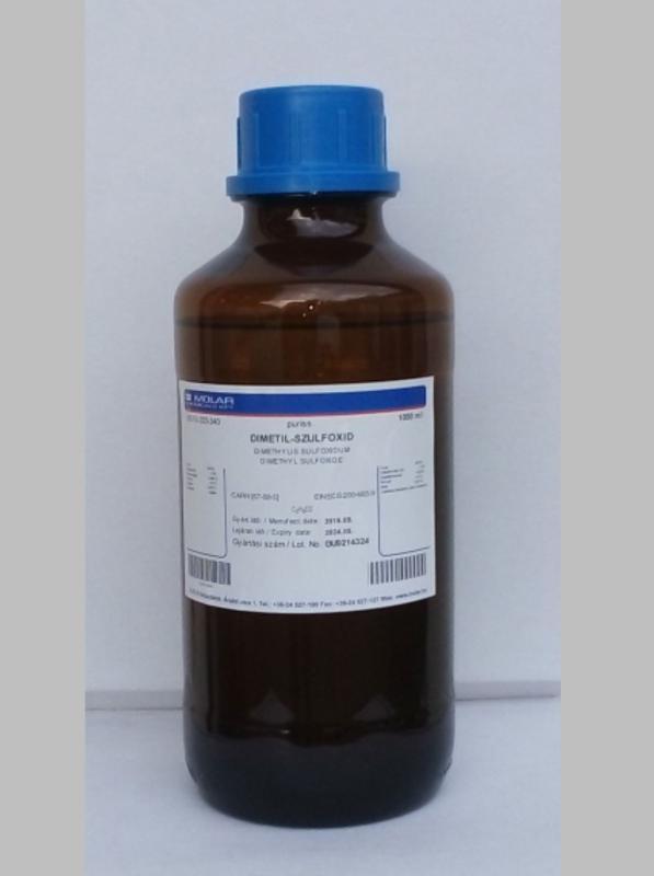 DMSO DIMETIL-SZULFOXID 1 LITERES