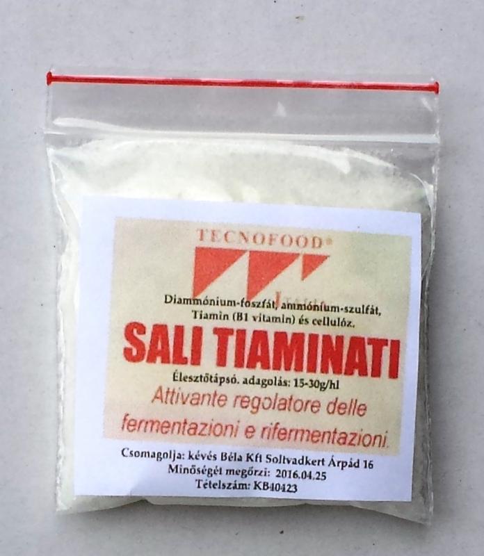 Élesztő táp SALI TIAMINATI 30 g