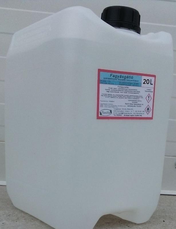 Etanol 93%-os denaturált szesz 20 liter Fagyásgátló szélvédő mosdó folyadék alkohol  -90 C fok ár/l
