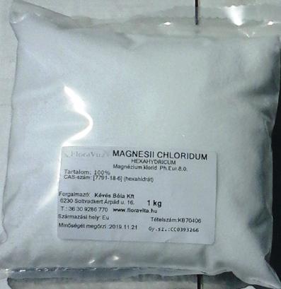 Magnézium-Klorid 1 kg Ph.Eur7.0 minőség