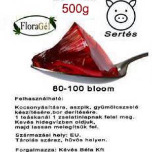 Nagy tisztaságú étkezési zselatin 500g FloraGél 80-100 bloom