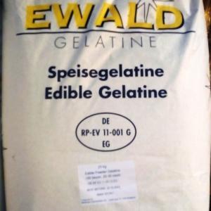 Zselatin FloraGél 180 bloom  25kg-os zsákban  (ár / 1kg) Nagy tisztaságú étkezési