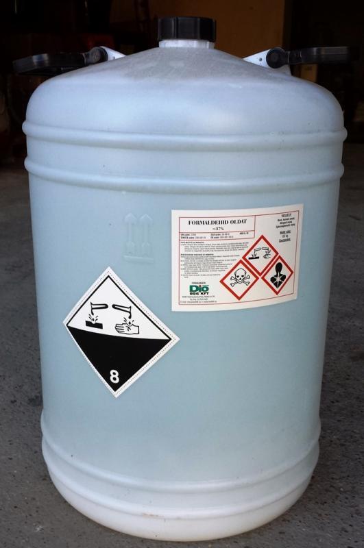 Formalin 37%-os 20 l-es kannában ár/kg
