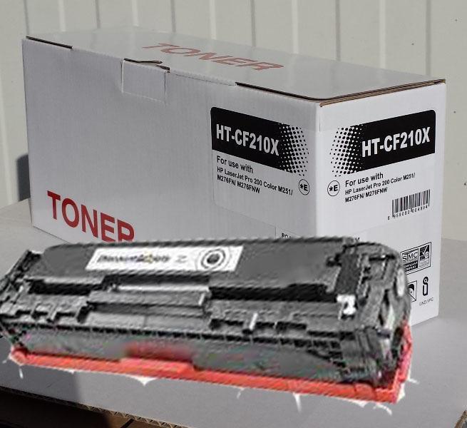 HP CF210X Lézer toner utángyártott.  (131X) Fekete Kompatibilis (M-251,276)
