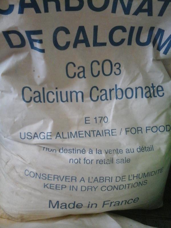 Kalcium-karbonát Szénsavas mész 25 kg os zsákban ár/1 kg