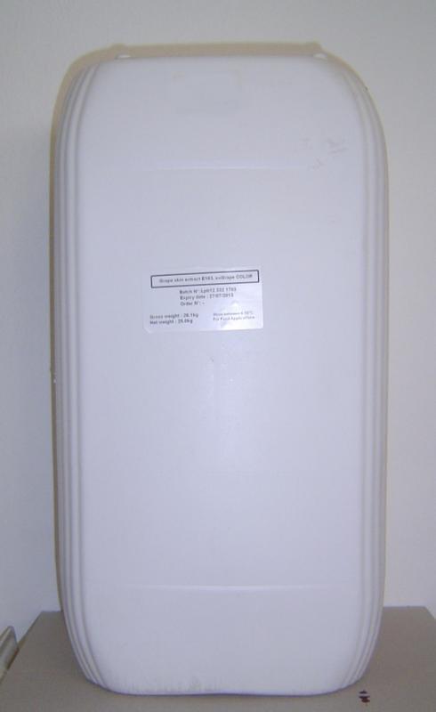 Kékszőlő szín sűrítmény. 25kg /1 kg