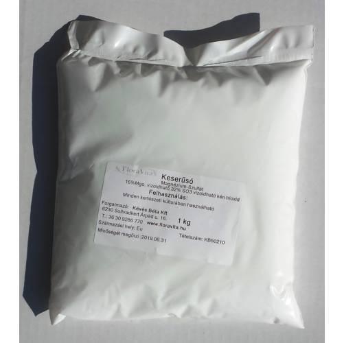 Keserűsó lombtrágya 1 kg Magnézium-szulfát (MgO) Tartalom 99.1%