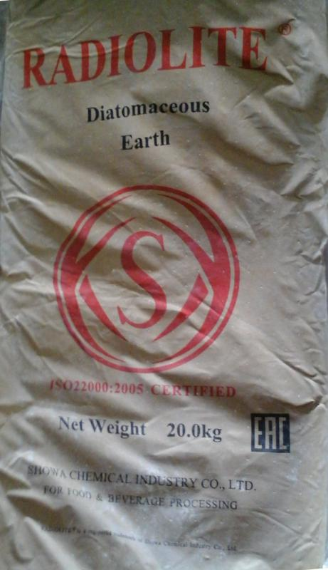 Kovaföld RADIOLITE 200 finom szűréshez 20 kg-os zsák