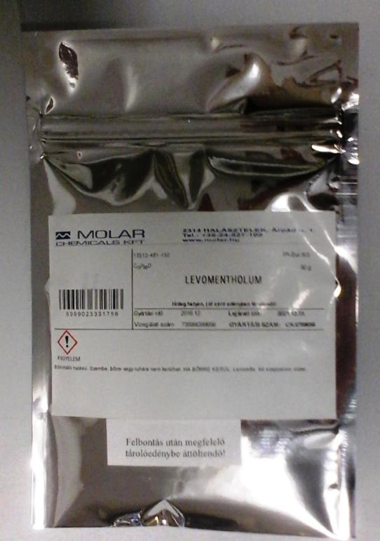Mentolkristály természetes gyógyszerkönyvi minőség 100 g