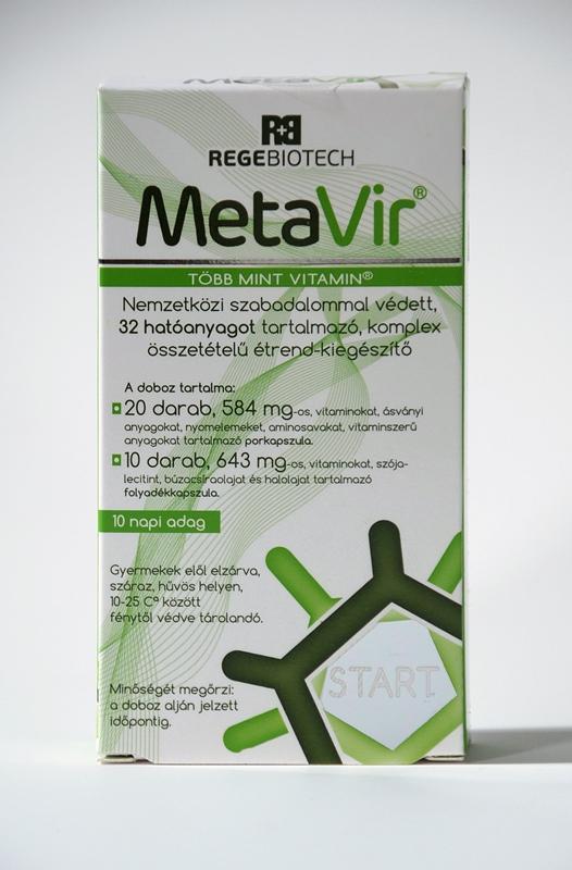 MetaVir start 30 db kapszula