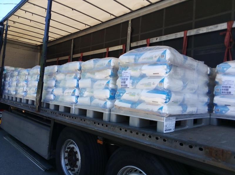 Mosogatógép só. Regeneráló vízlágyító só. 1 tonna Tiszta só párnácska ivóvízhez is 25 kg-os zsákban ivóvízhez is Ár/kg