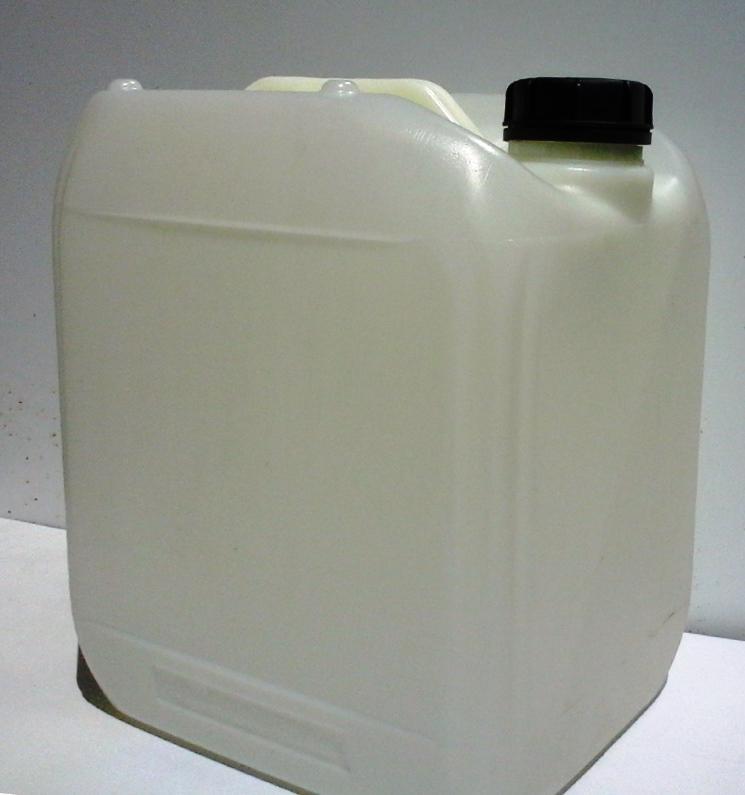 Műanyag kanna 20 l-es nagyszájú 50 mm nyílással ADR-es