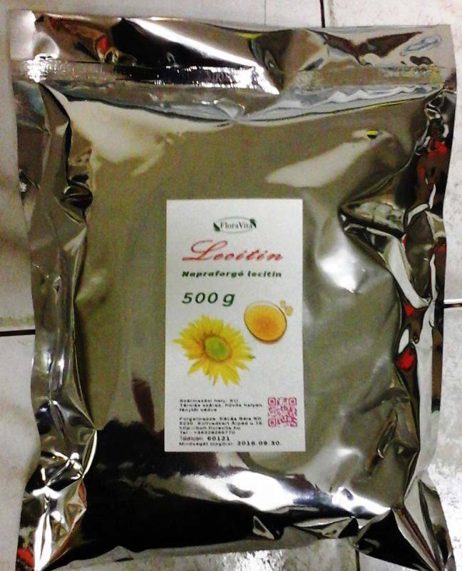 Napraforgó lecitin 97.7 %-os 500 g