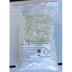 Nátrium-hidroxid pikkelyes NaOH  /Lúgkő/ 1 kg