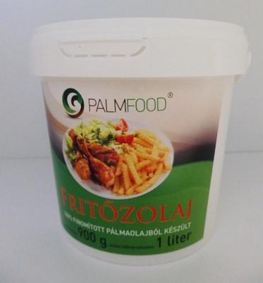 Palmfood Fritőzolaj 100% Pálmaolaj 1 literes vödörben