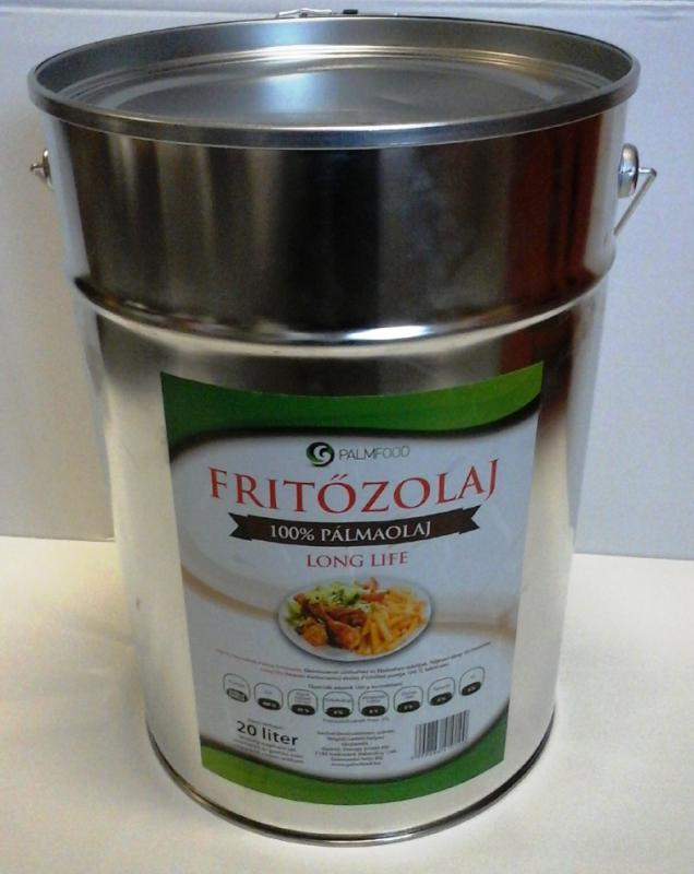 Palmfood Fritőzolaj 100% Pálmaolaj 20 literes vödörben (ár/liter)