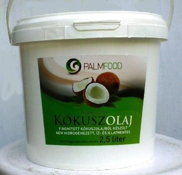 Palmfood Kókuszolaj kókuszzsír 2,5 liter