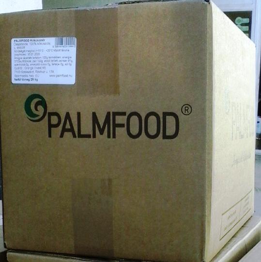 PALMFOOD KÓKUSZZSÍR 20 kg-os dobozban. Ár/ kg