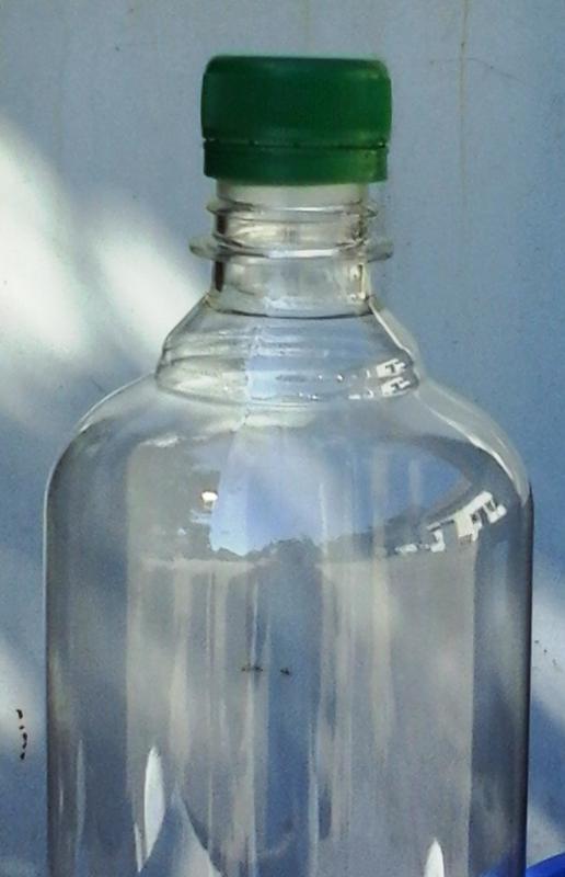 Pet palack kupak zöld