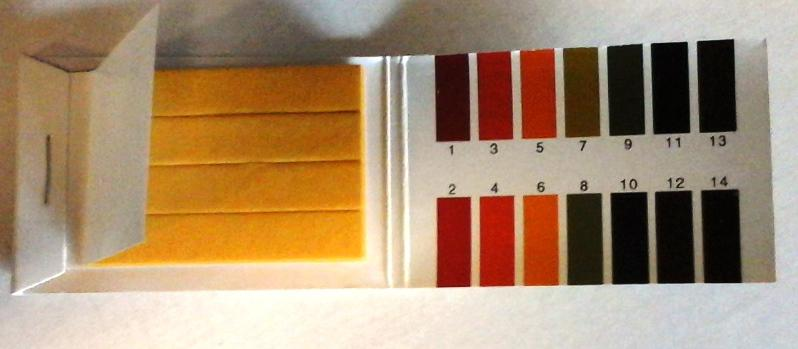 PH mérő lakmuszpapír 1-14 Ph -ig 80 db
