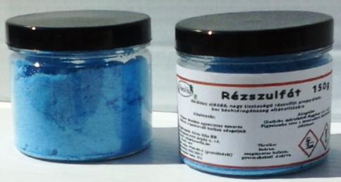 Rézszulfát nagy tisztaságú 150 g