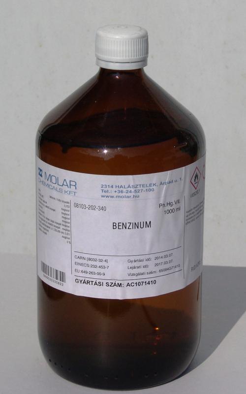 Sebbenzin gyógyszerkönyvi minőség benzinum 1000 ml