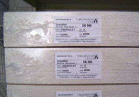 StrassBurger szűrőlap SK 500 40x40