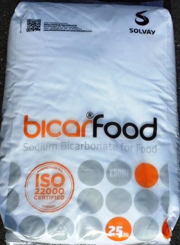 Szódabikarbóna étkezési  25 kg-os zsákban ömlesztve (ár / kg) USP, FCC minőség
