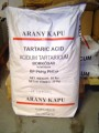 Borkősav 25 kg-os zsákban (ár / 1kg)