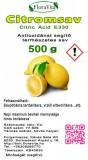 Citromsav étkezési minőség 500 g