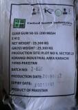 Guargumi E412 25 kg-os zsákban ömlesztve. ár/1 kg