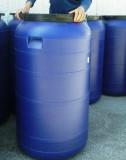 Műanyag hordó 250 l-es ballon 42 cm-es csavaros tetővel, csap rendelhető.