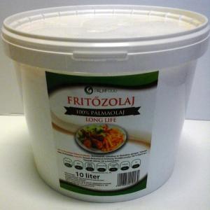 Palmfood Fritőzolaj 100% Pálmaolaj 10 literes vödörben (ár/liter)