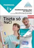 Tiszta só NaCl patika tisztaságú 1 kg  konyhasó Gyógyszerkönyvi minőség.
