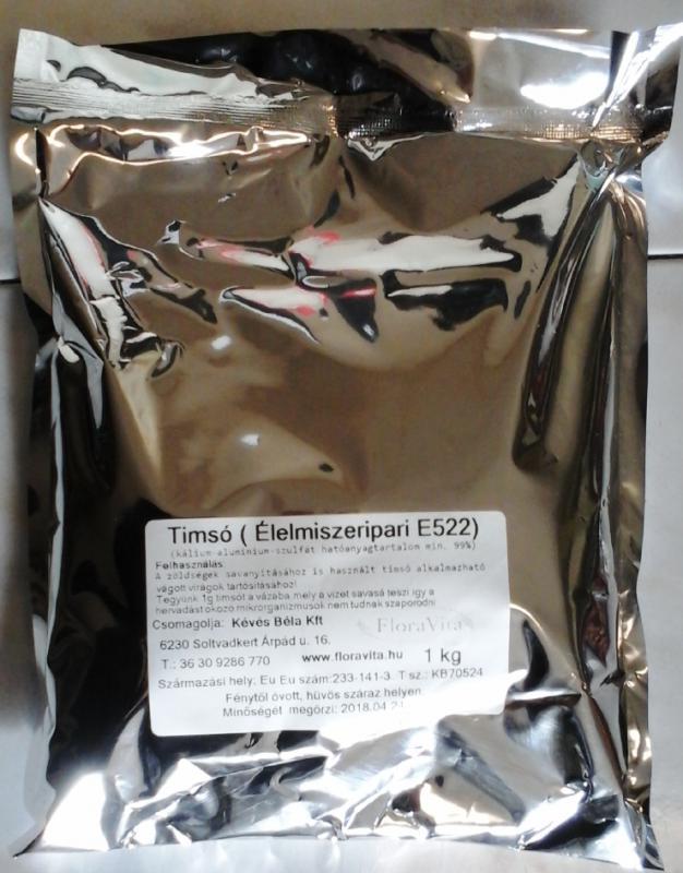 Timsó élelmiszeripari minőség 1 kg