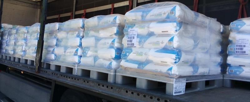 Tiszta só NaCl vegytiszta étkezési biosó 1 tonna konyhasó raklapon,25 kg-os zsákokban (ár / kg)