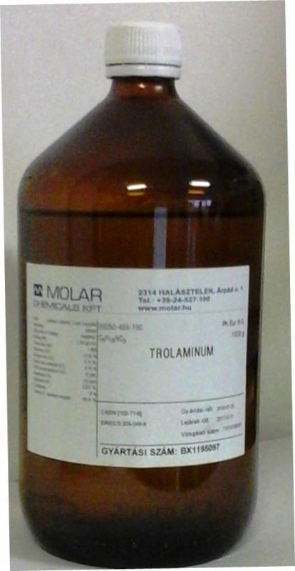 Trietanol-amin gyógyszerkönyvi minőség 1000 ml