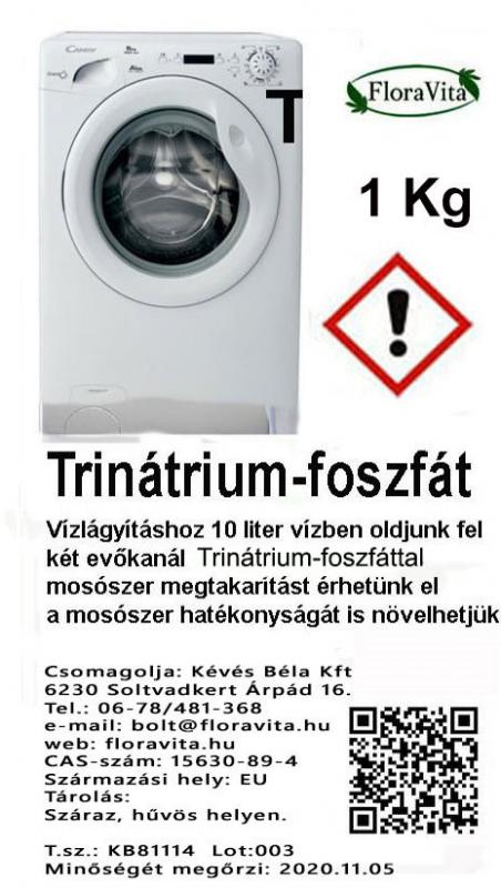 Trisó (Trinátriumfoszfát) 1 kg-os