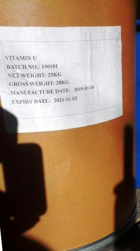 U-Vitamin 25 kg-os DL-metil-metionin-szulfónium-klorid por át/kg