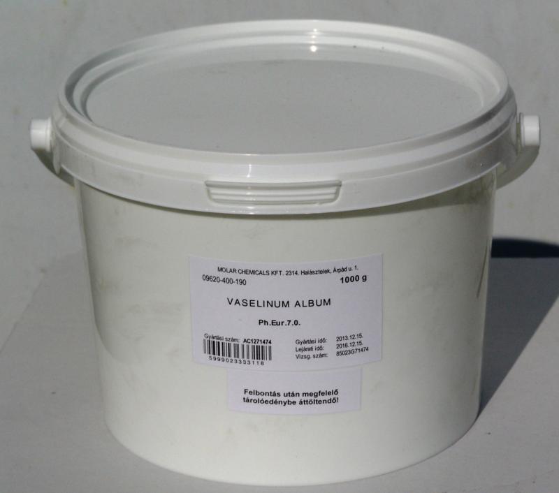 Vazelin fehér gyógyszerkönyvi minőség 1000 g