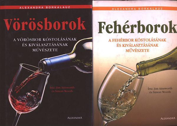Vörösborok + Fehérborok 1., 2. kötet