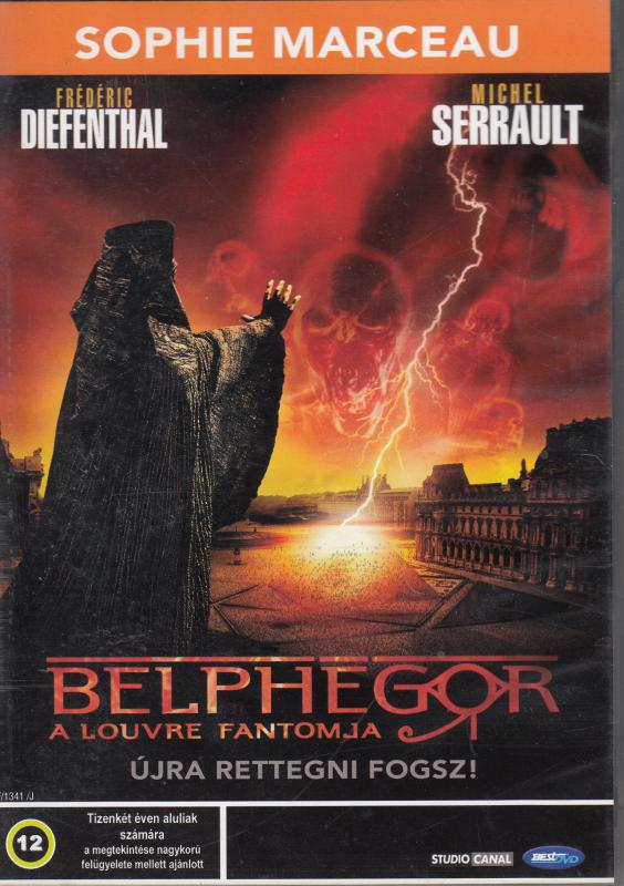 BELPHEGOR a Louvre fantomja DVD