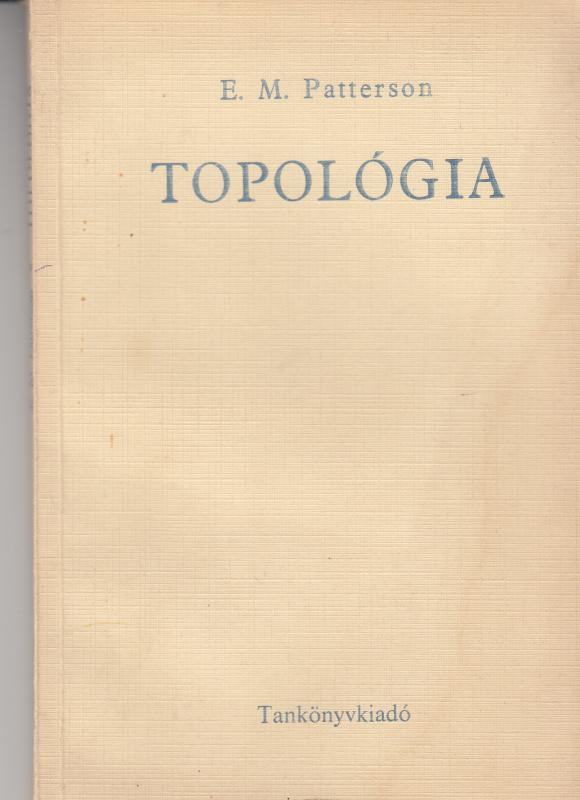 E. M. Patterson : TOPOLÓGIA