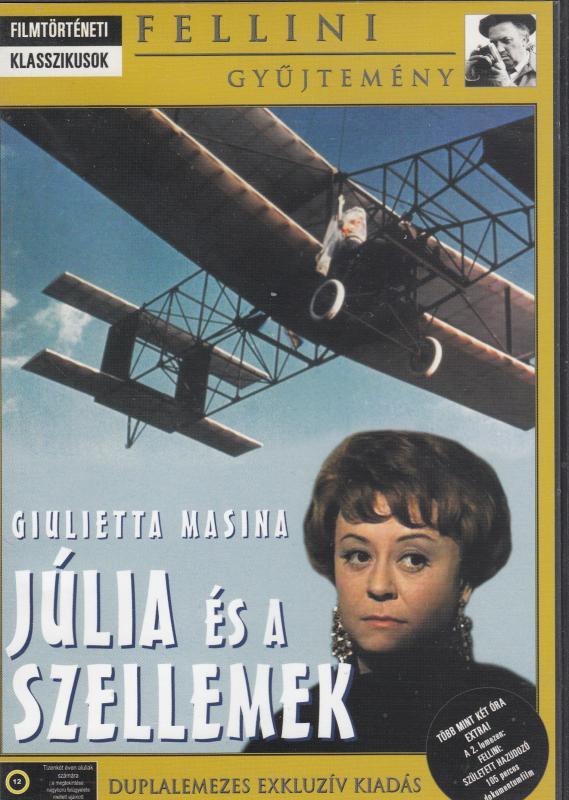 Fellini  -  JÚLIA ÉS A SZELLEMEK    (Fellini gyűjtemény)